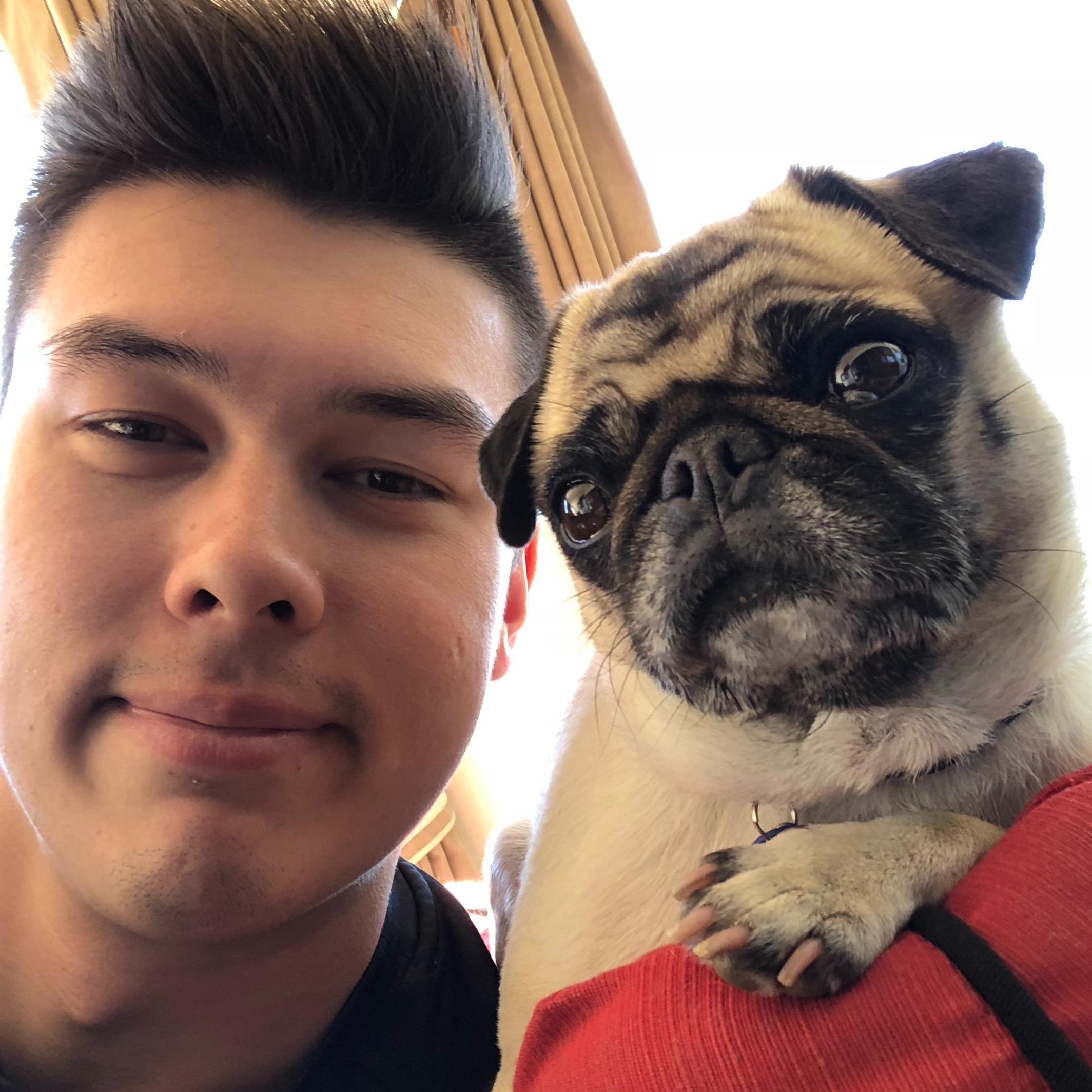 dog walker Charles