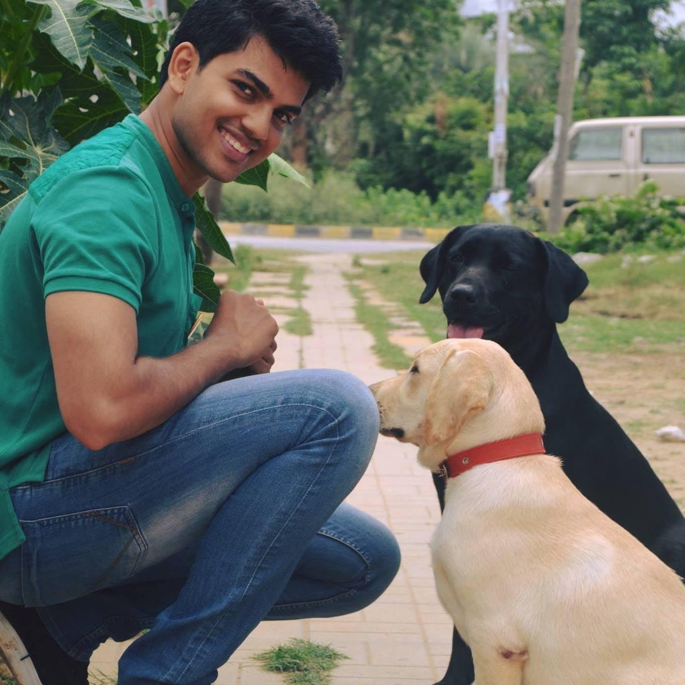 dog walker Nitish