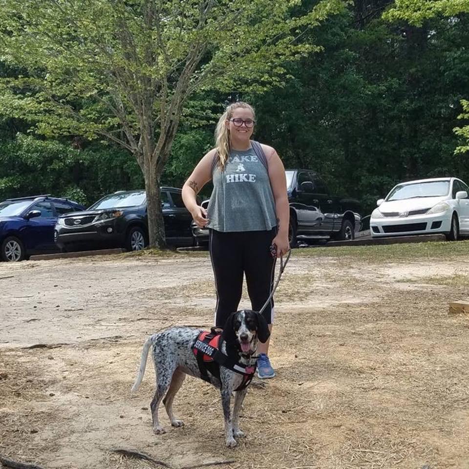 dog walker Morgan