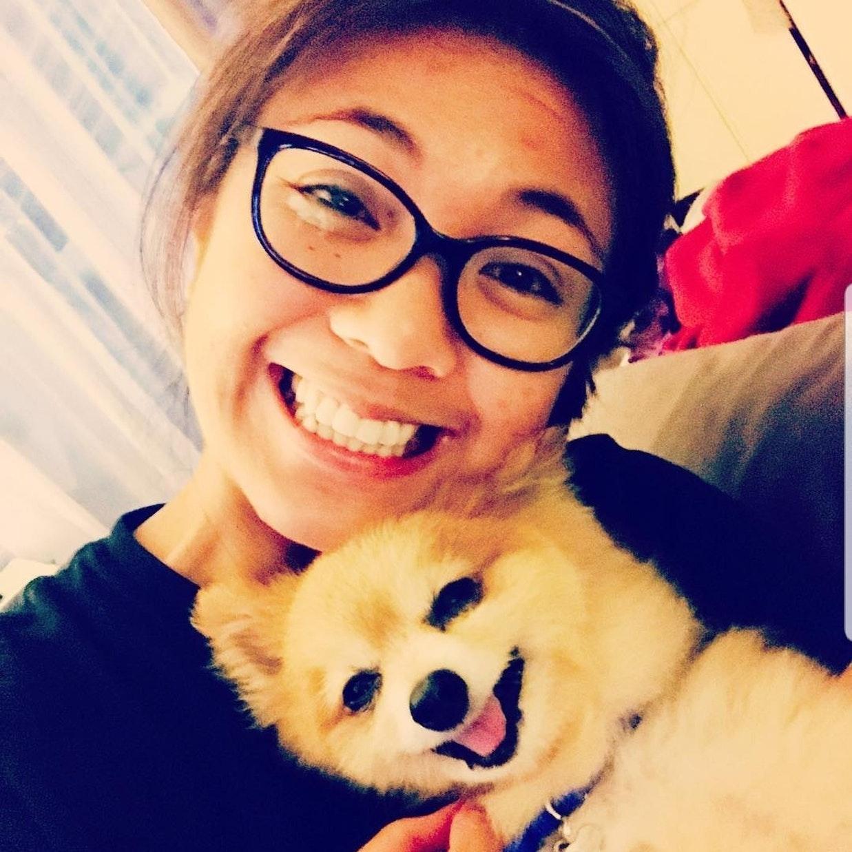 dog walker Shaina Mae