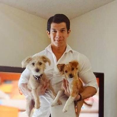 dog walker Manny