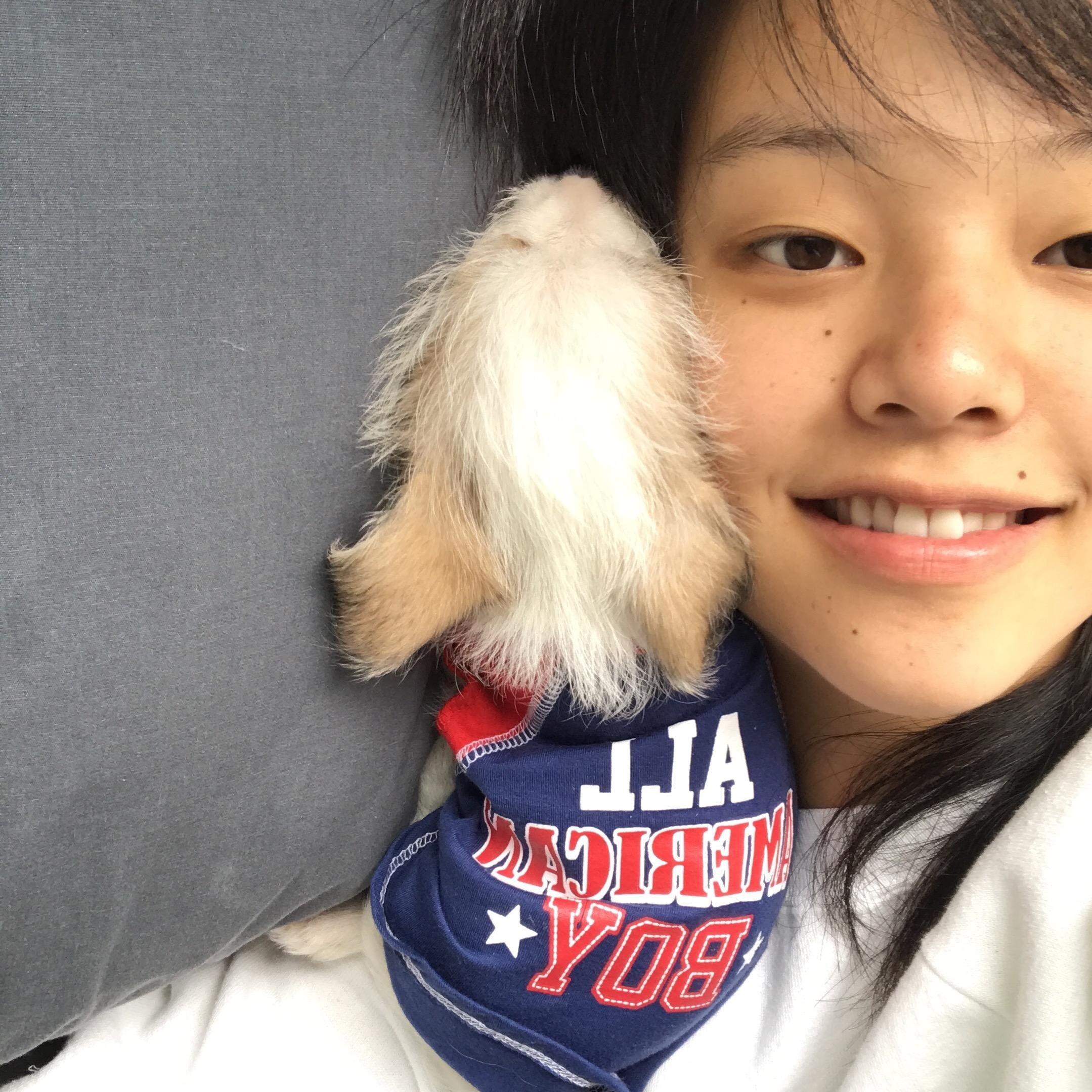 dog walker Mina
