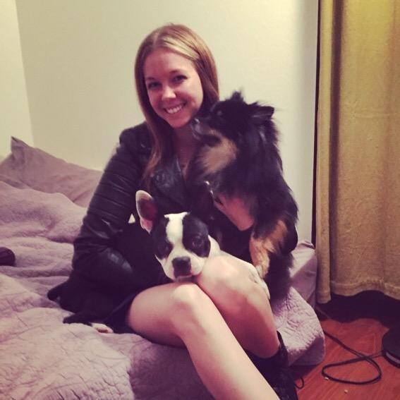 dog walker Kelsie
