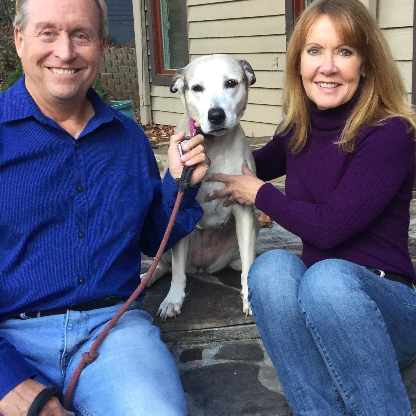 pet sitter Cindy & Mark