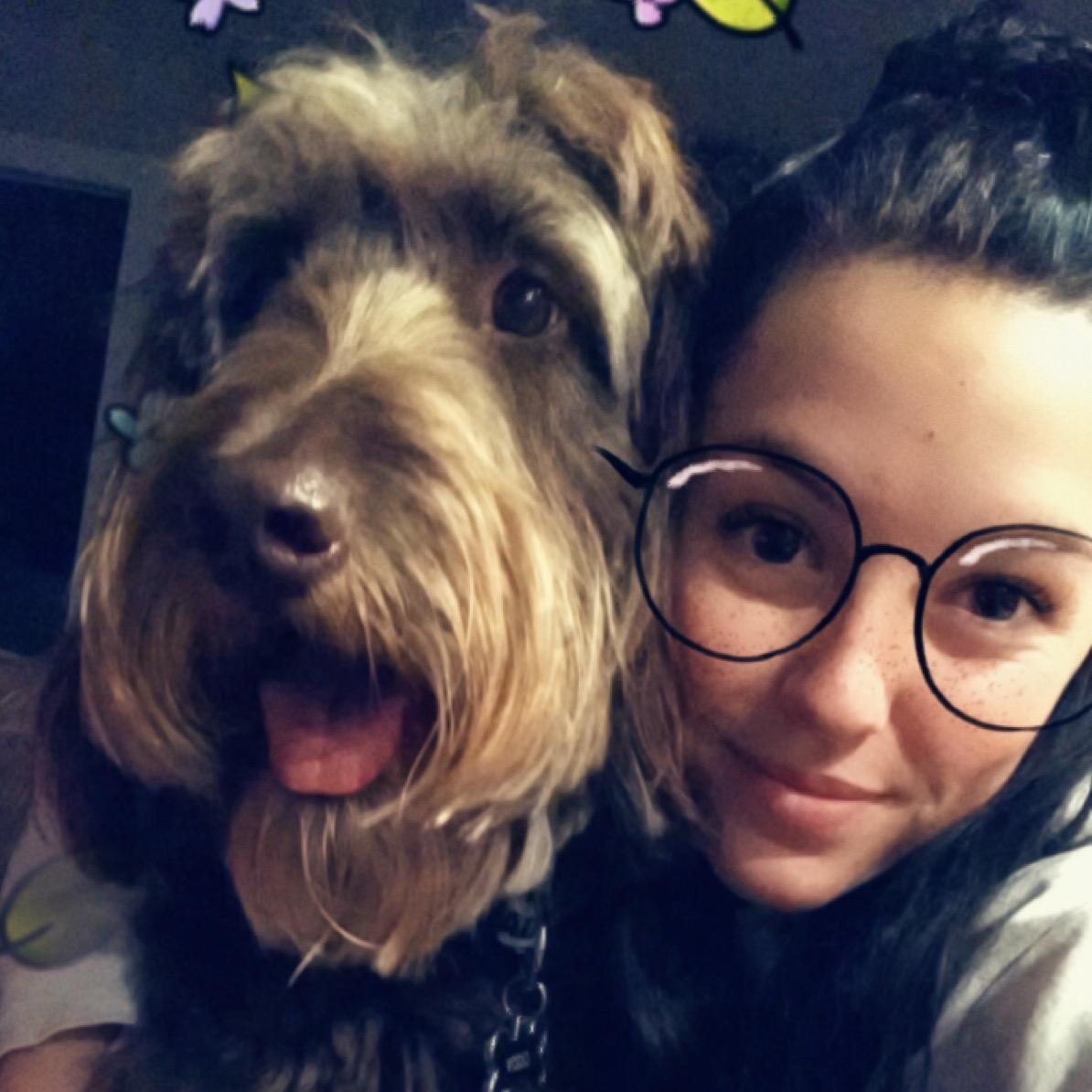 dog walker Lena