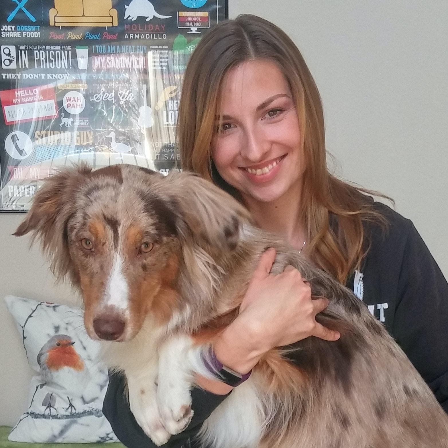 dog walker Adrienn