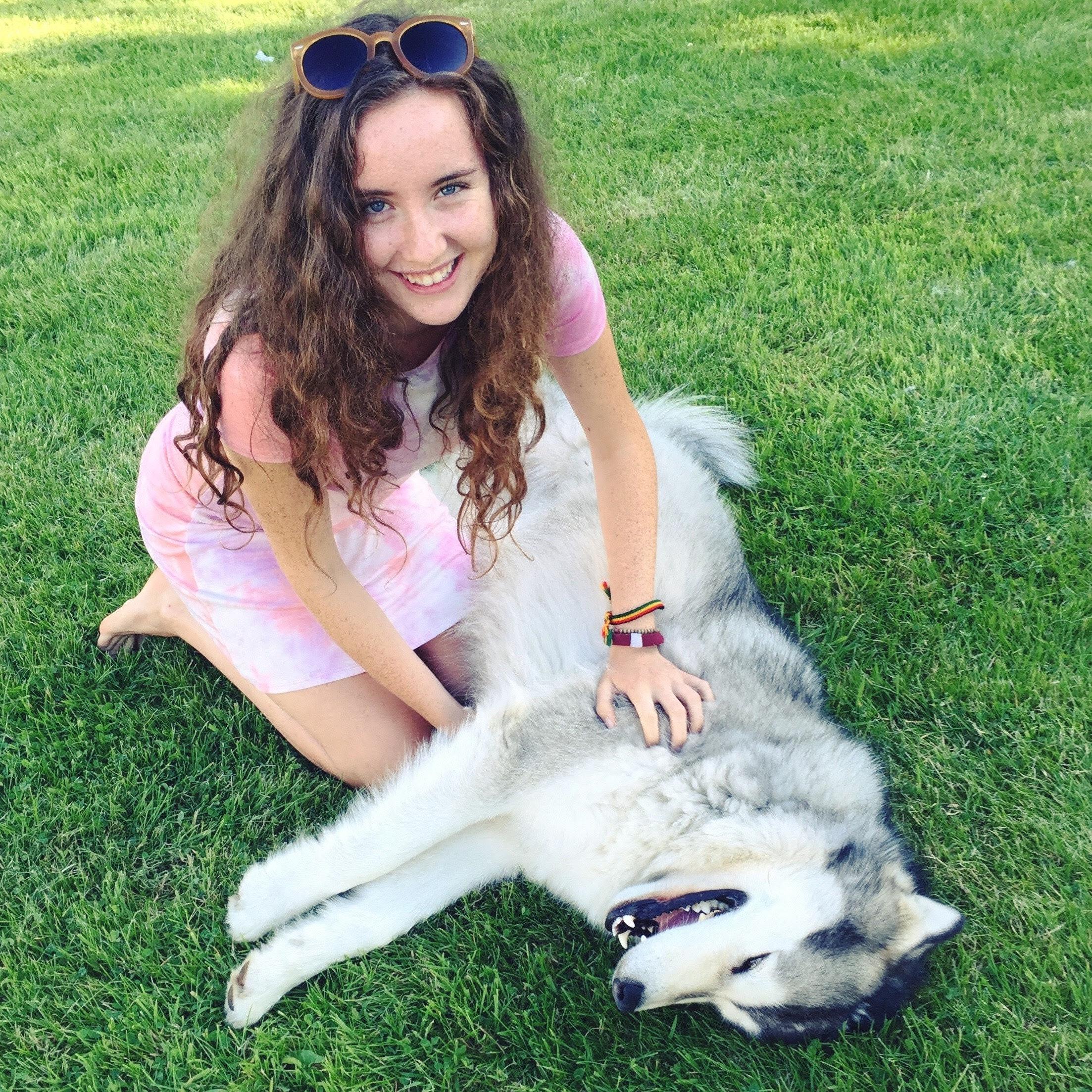 dog walker Alannah