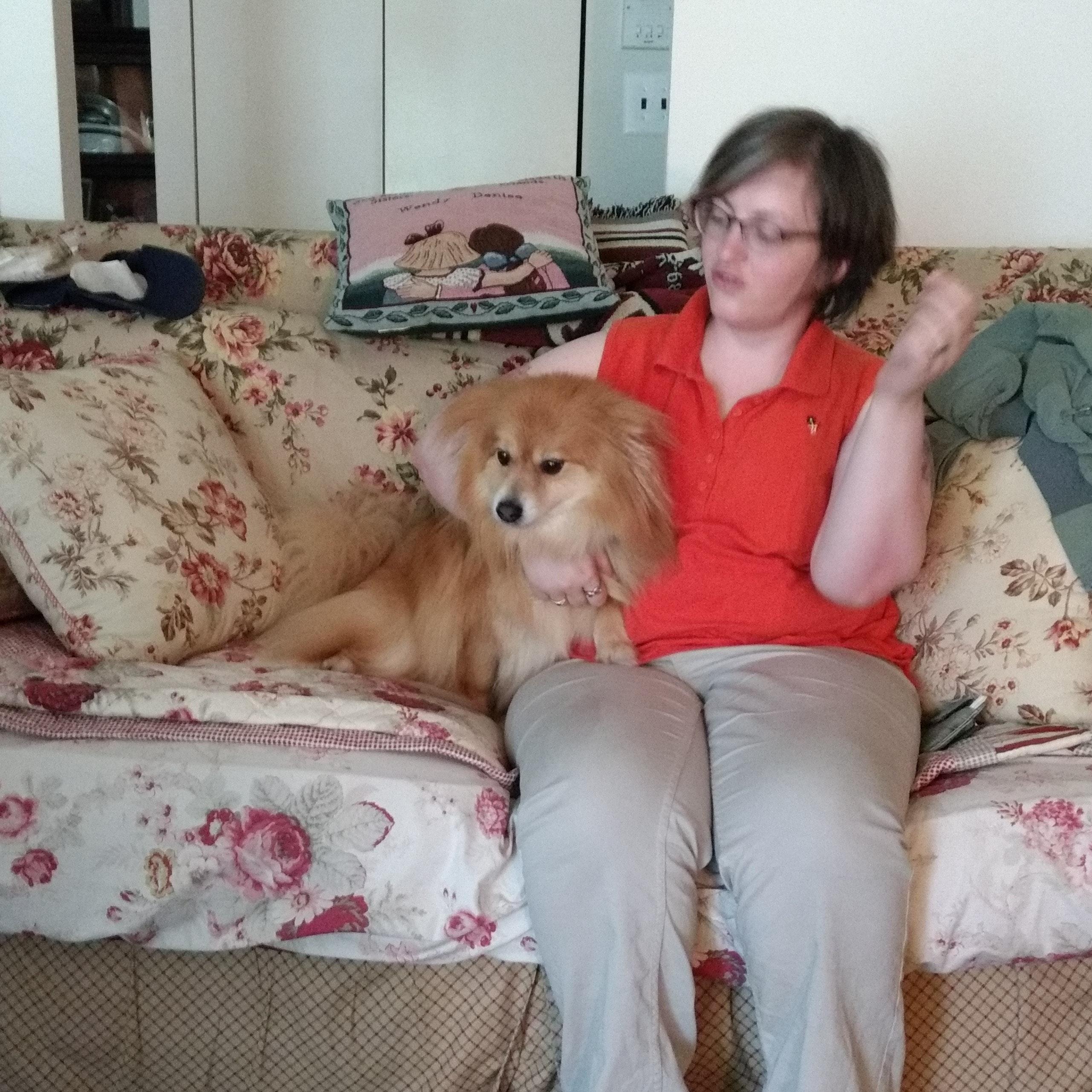 dog walker Matthew A. & Ally