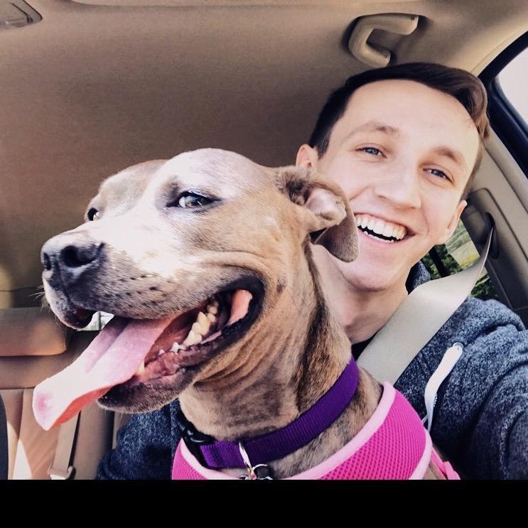 dog walker Dakota