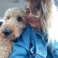 dog walker Tillie