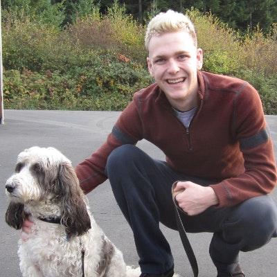 dog walker Jax