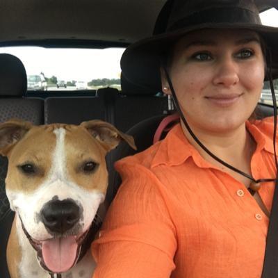 dog walker Kelsey & Reid