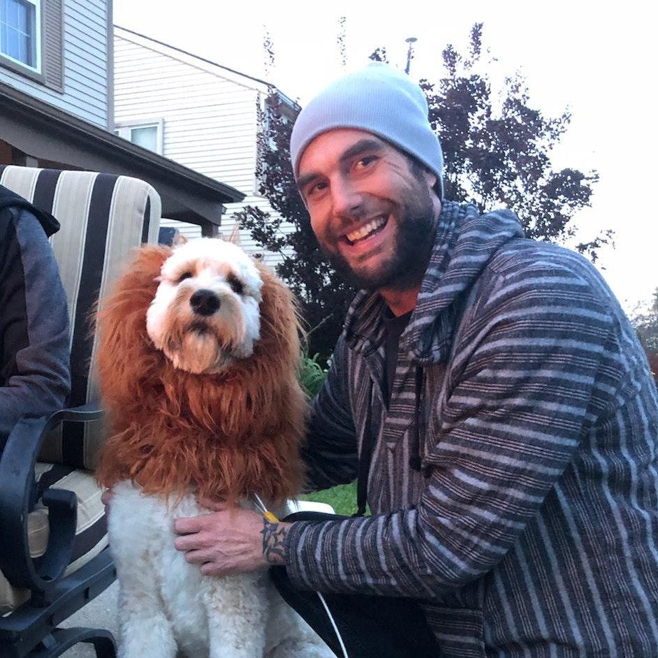 Keith's dog boarding