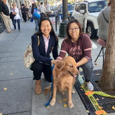 dog walker Ning