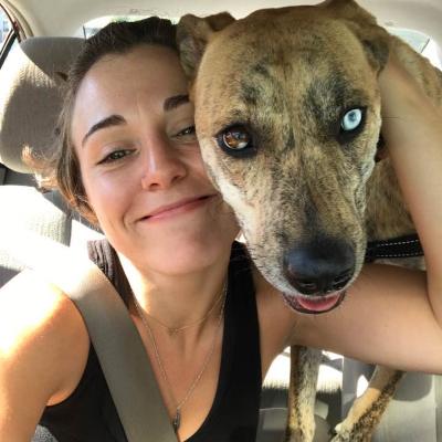 dog walker Ava