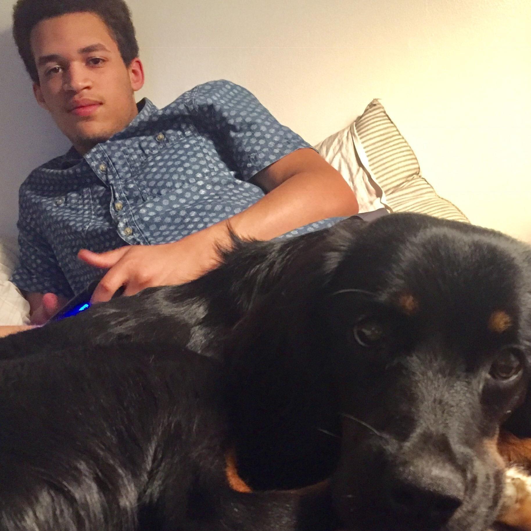 dog walker Caiden