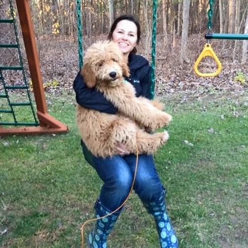 dog walker Mandy