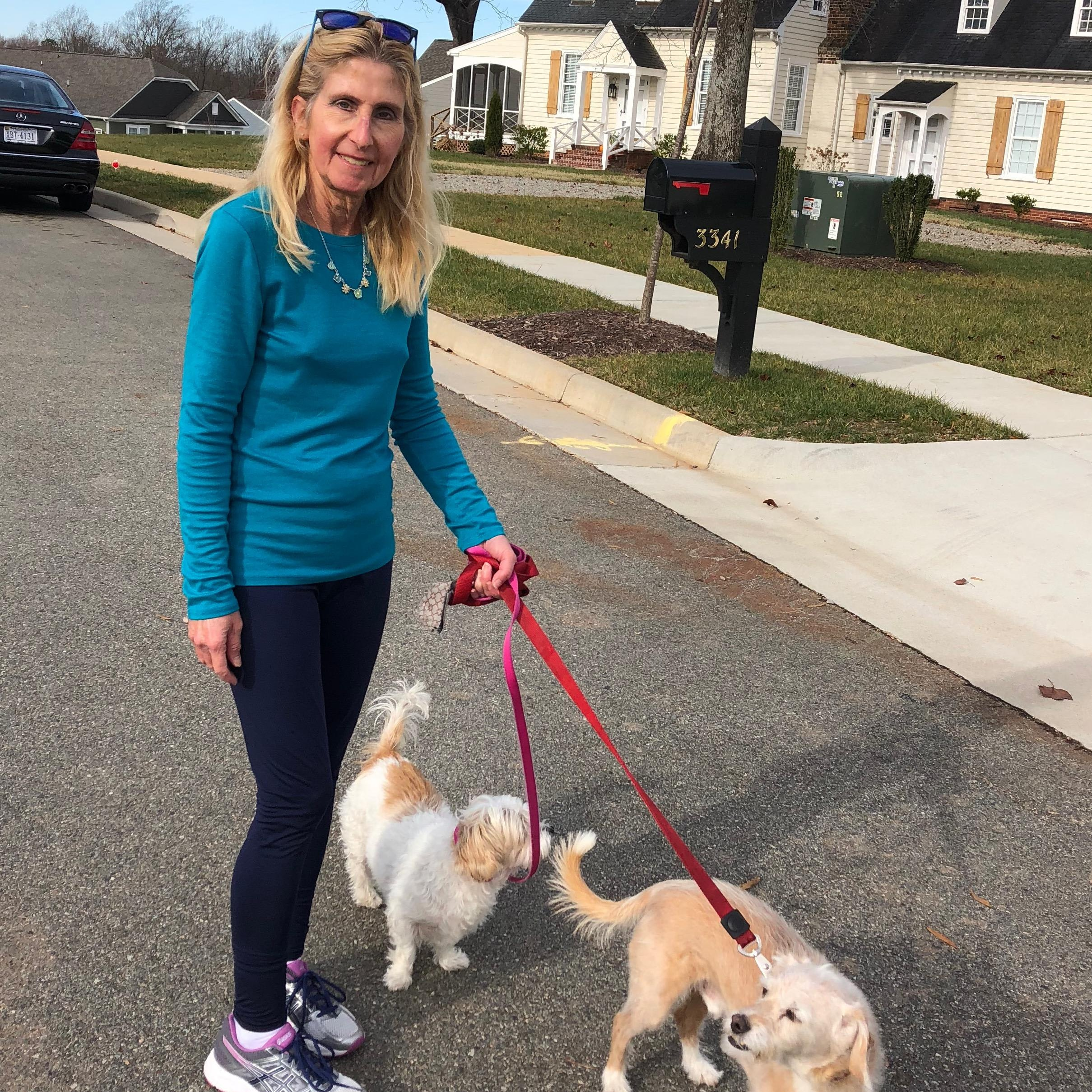 dog walker Elaine