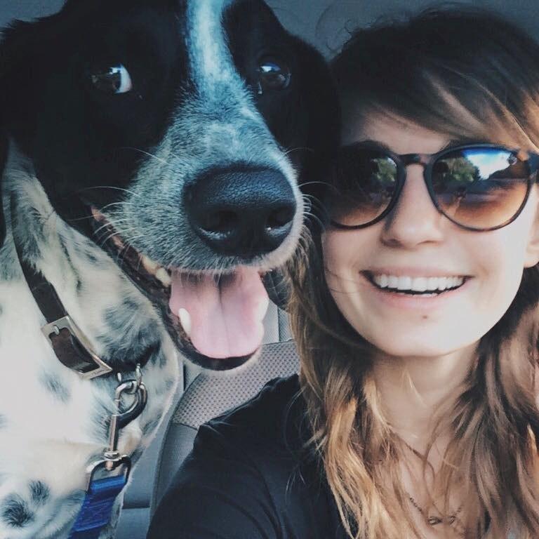 dog walker Jeanne