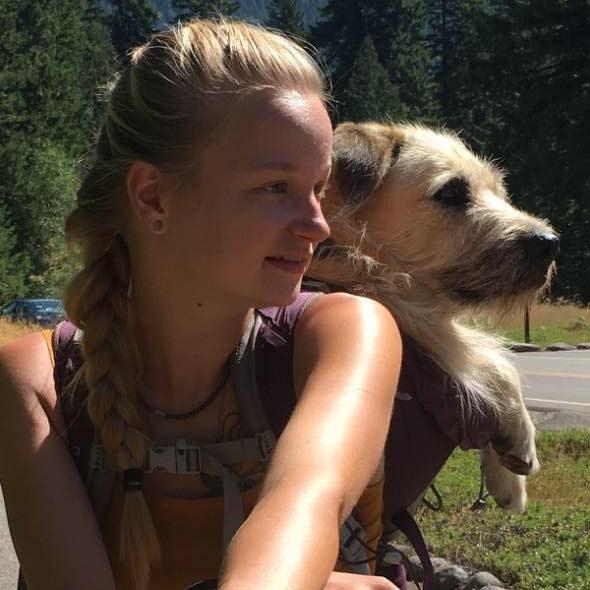 dog walker Mackenzie