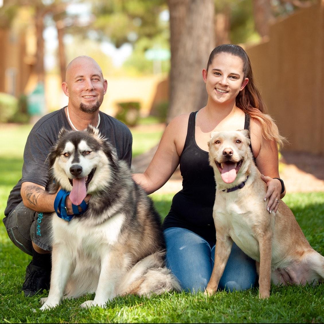 Jesse C. & Nicole's dog boarding