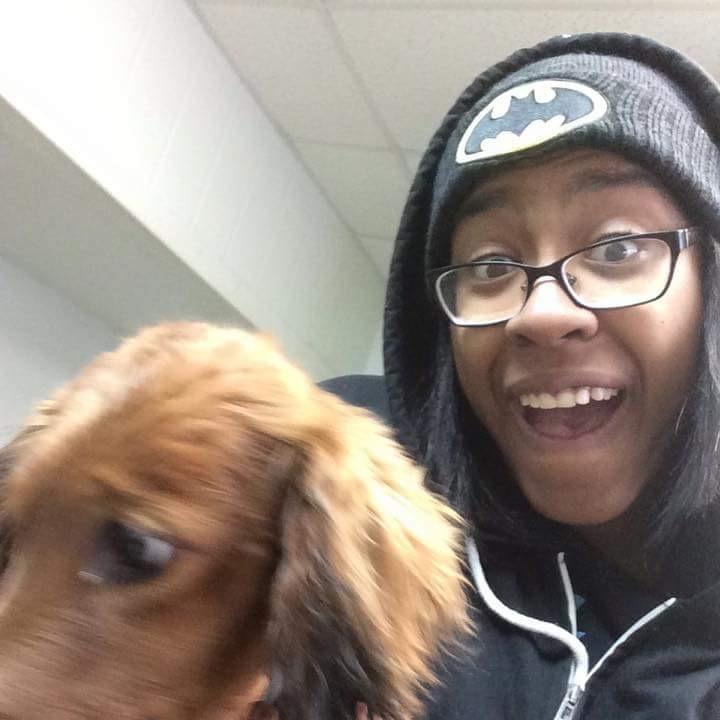 dog walker T'Keyah