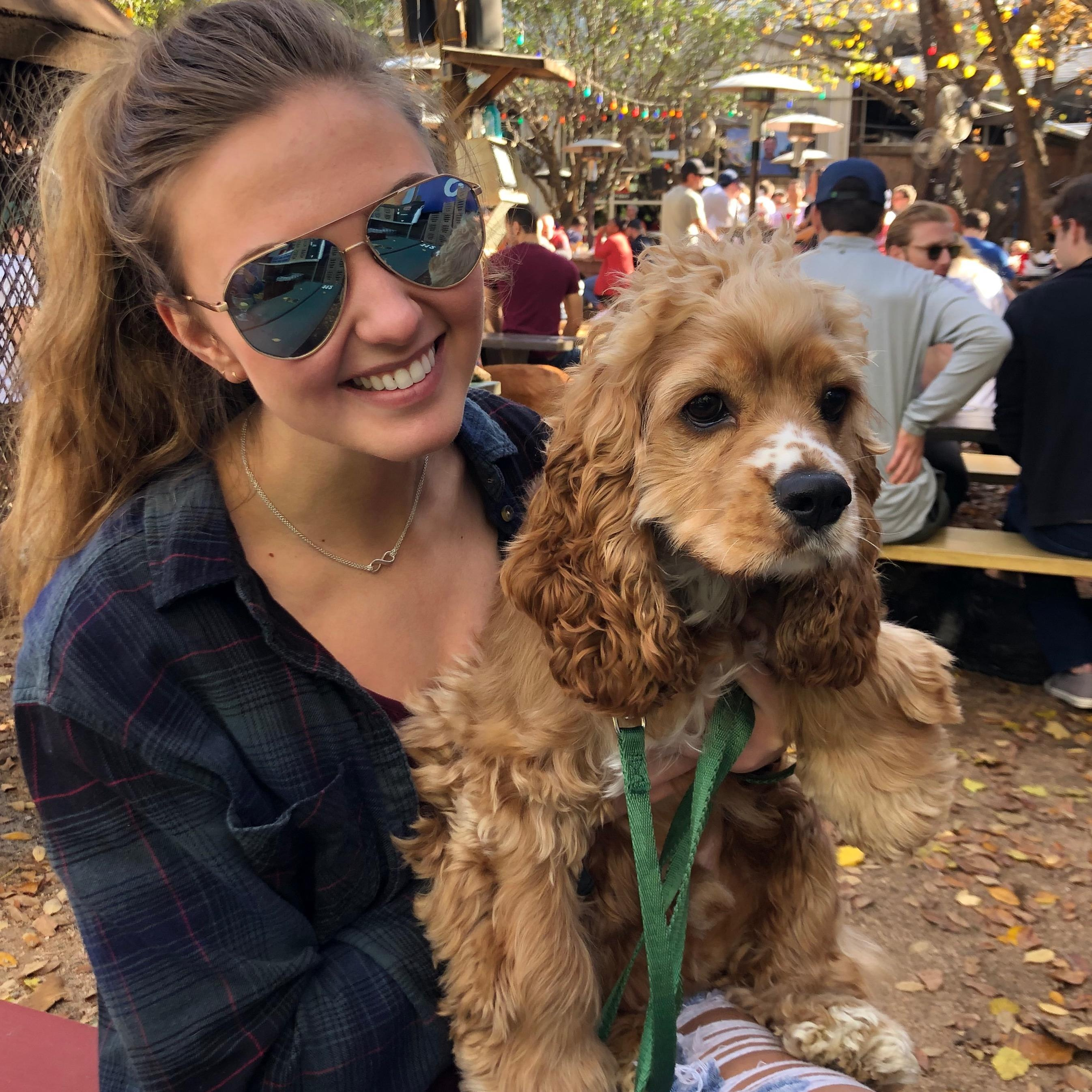 Brittni's dog boarding