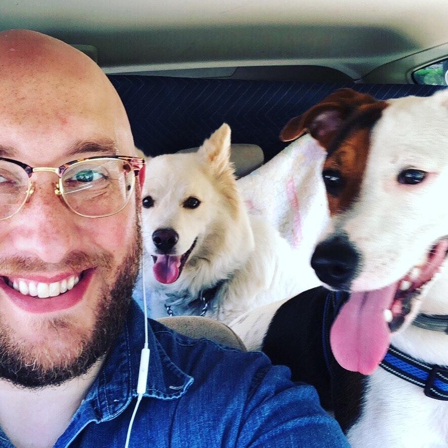 dog walker Reeve