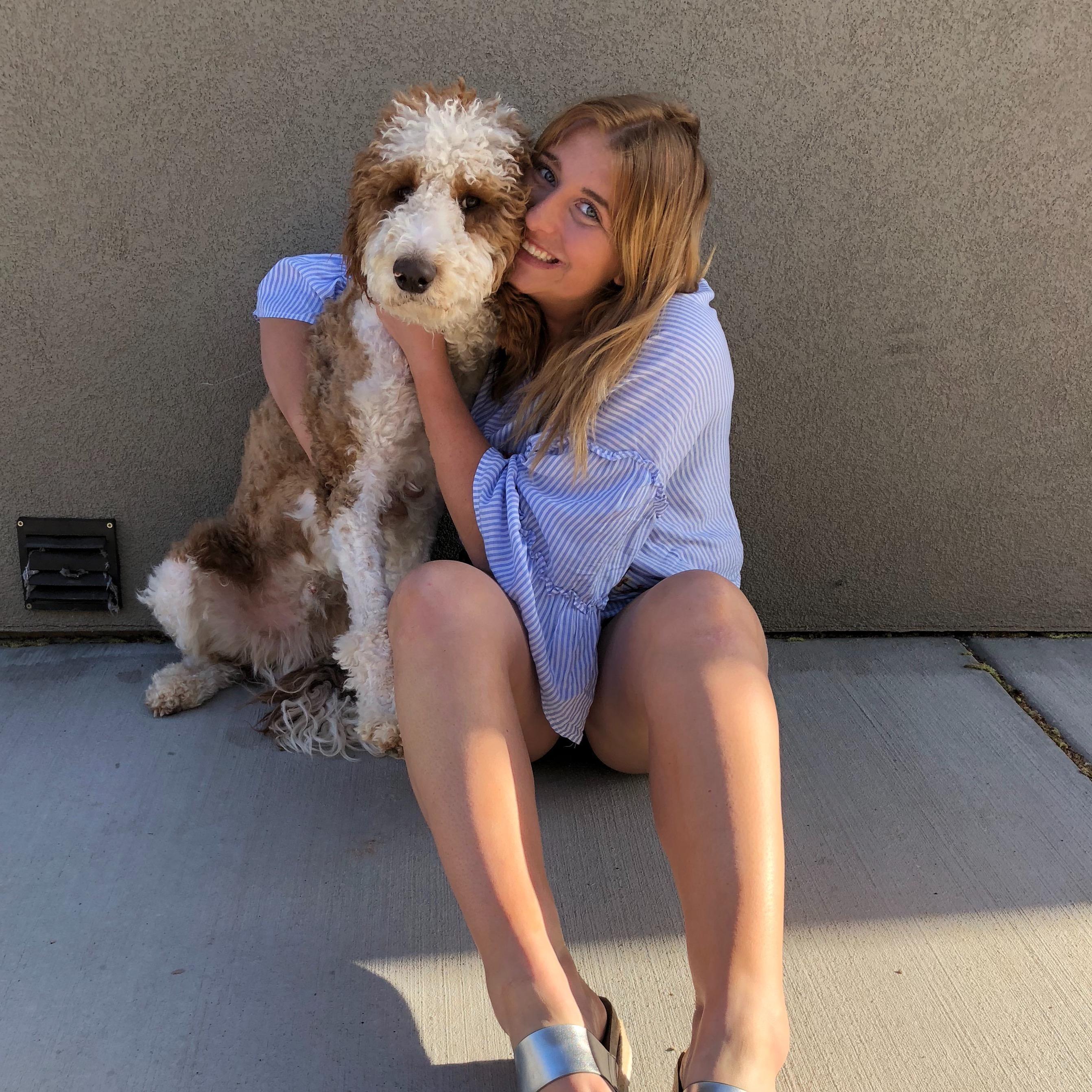 dog walker Zoie