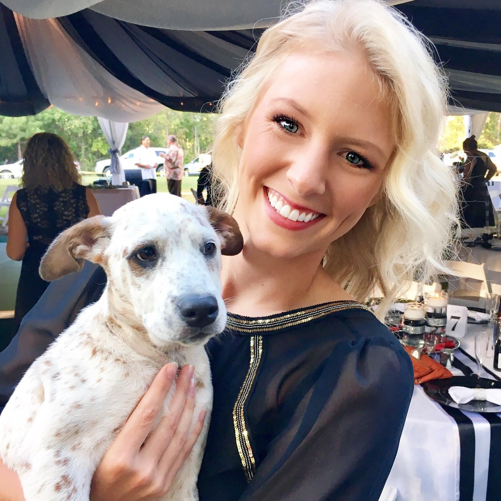 dog walker Claire