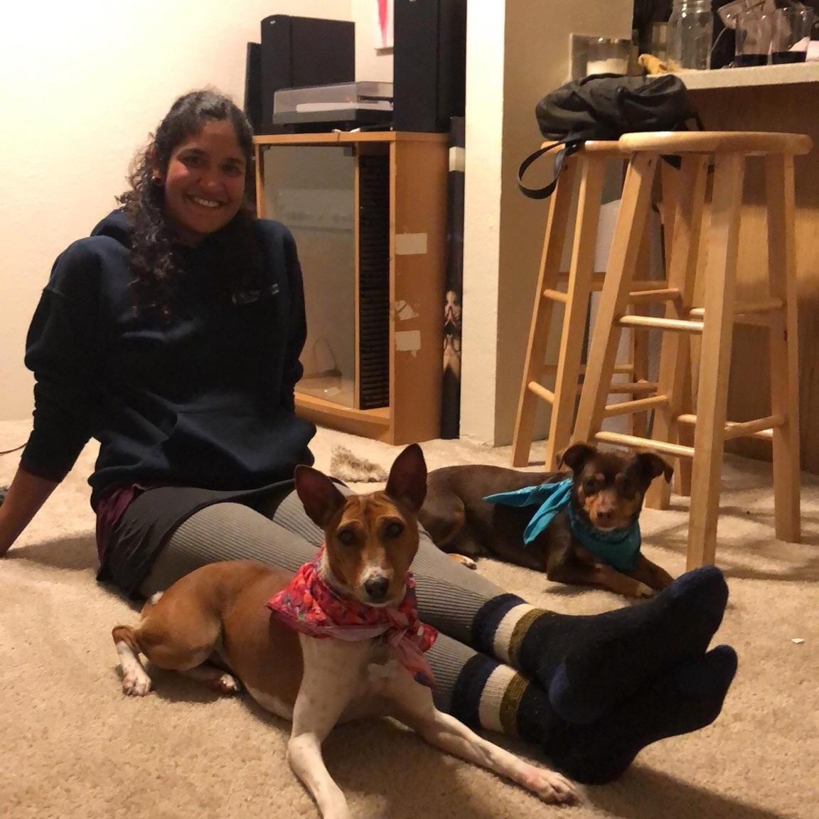 dog walker Anchal