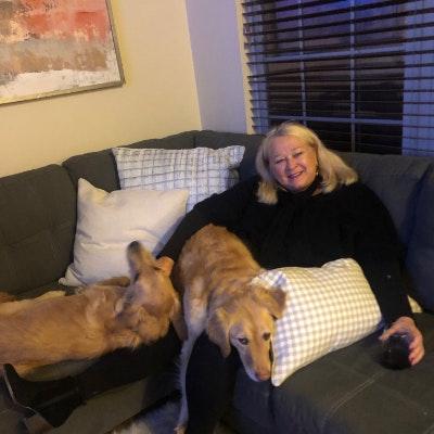pet sitter Paula