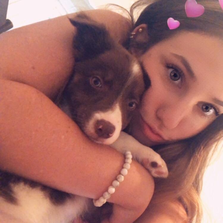 dog walker Gia