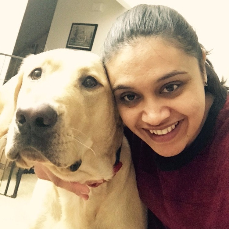 dog walker Shruthi
