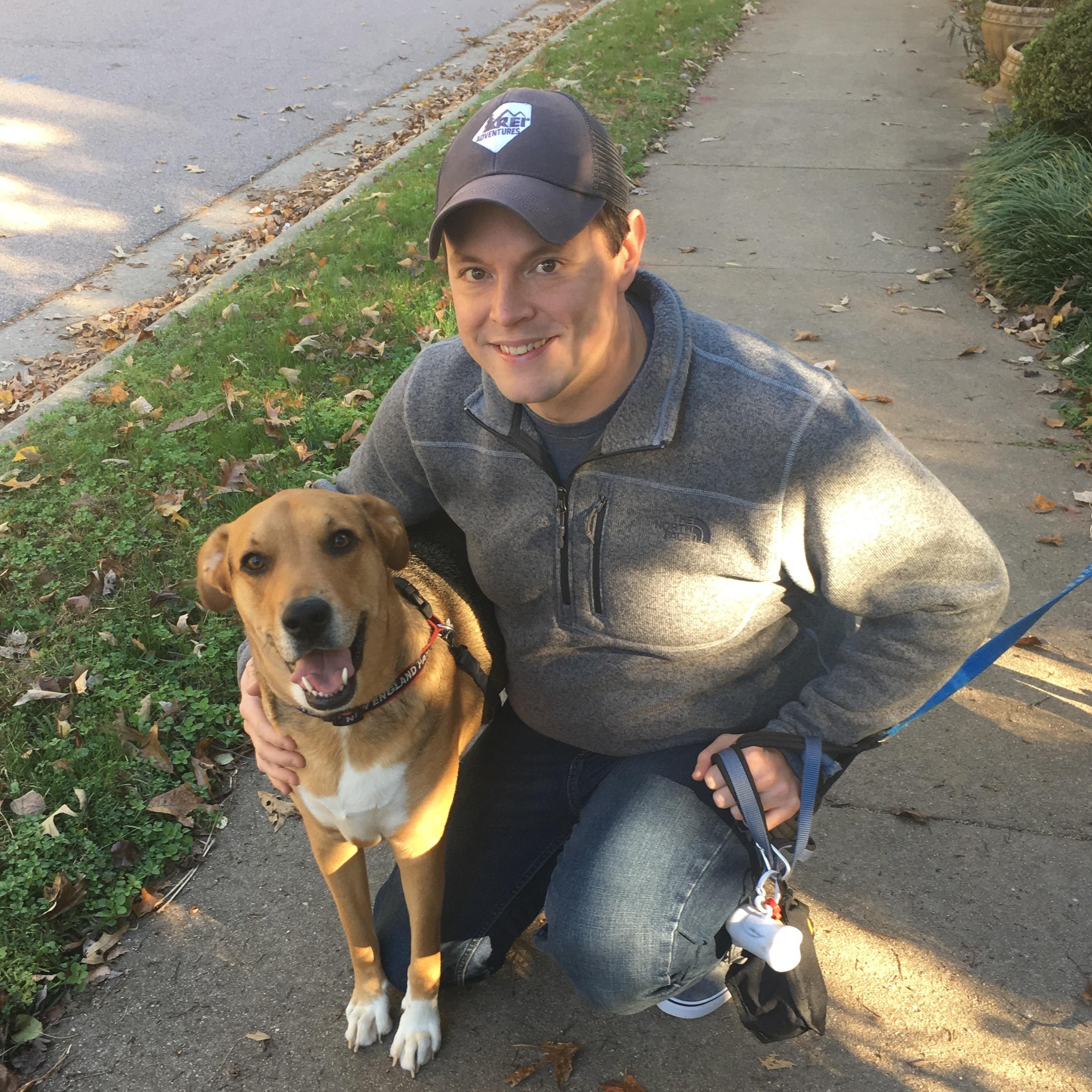 dog walker Jeffrey