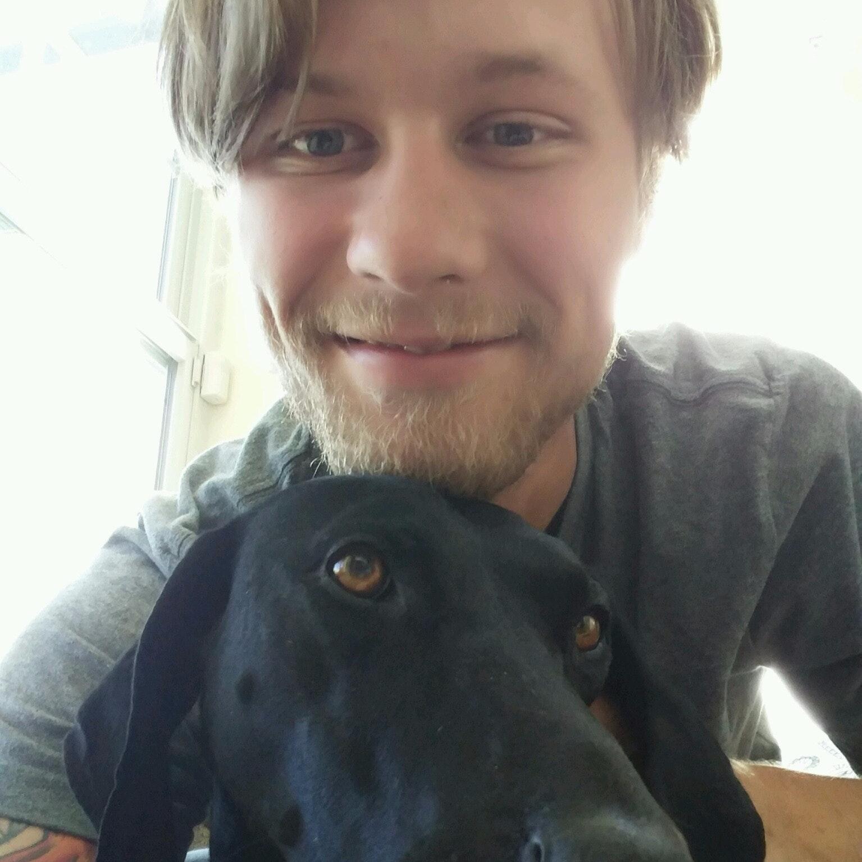 dog walker Andrew