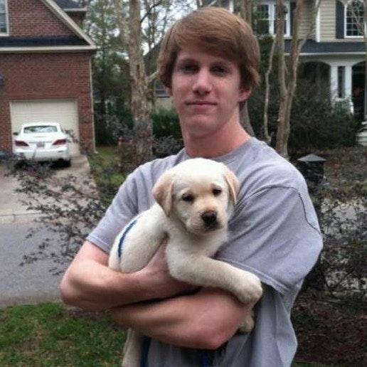 dog walker Ian