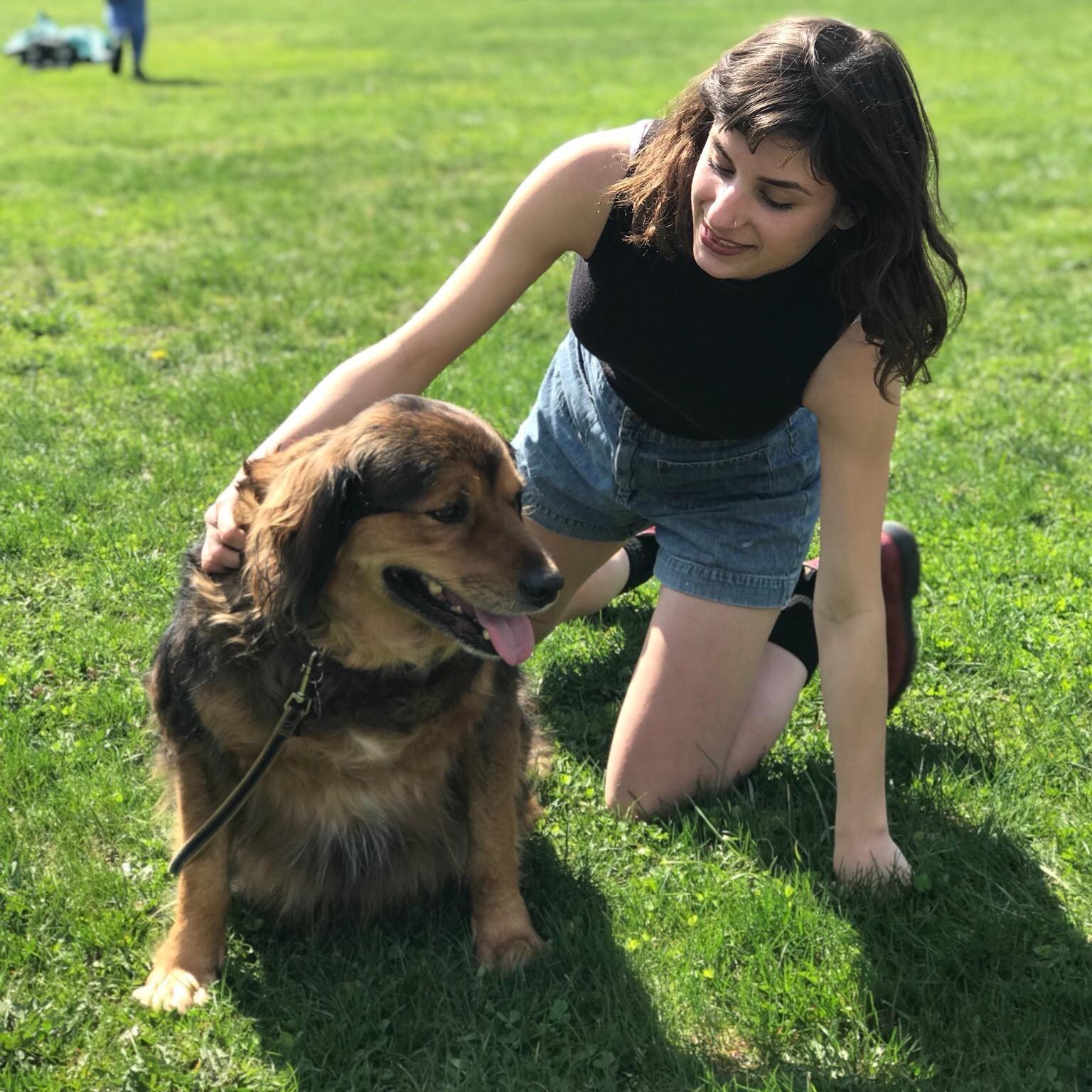 dog walker Angela