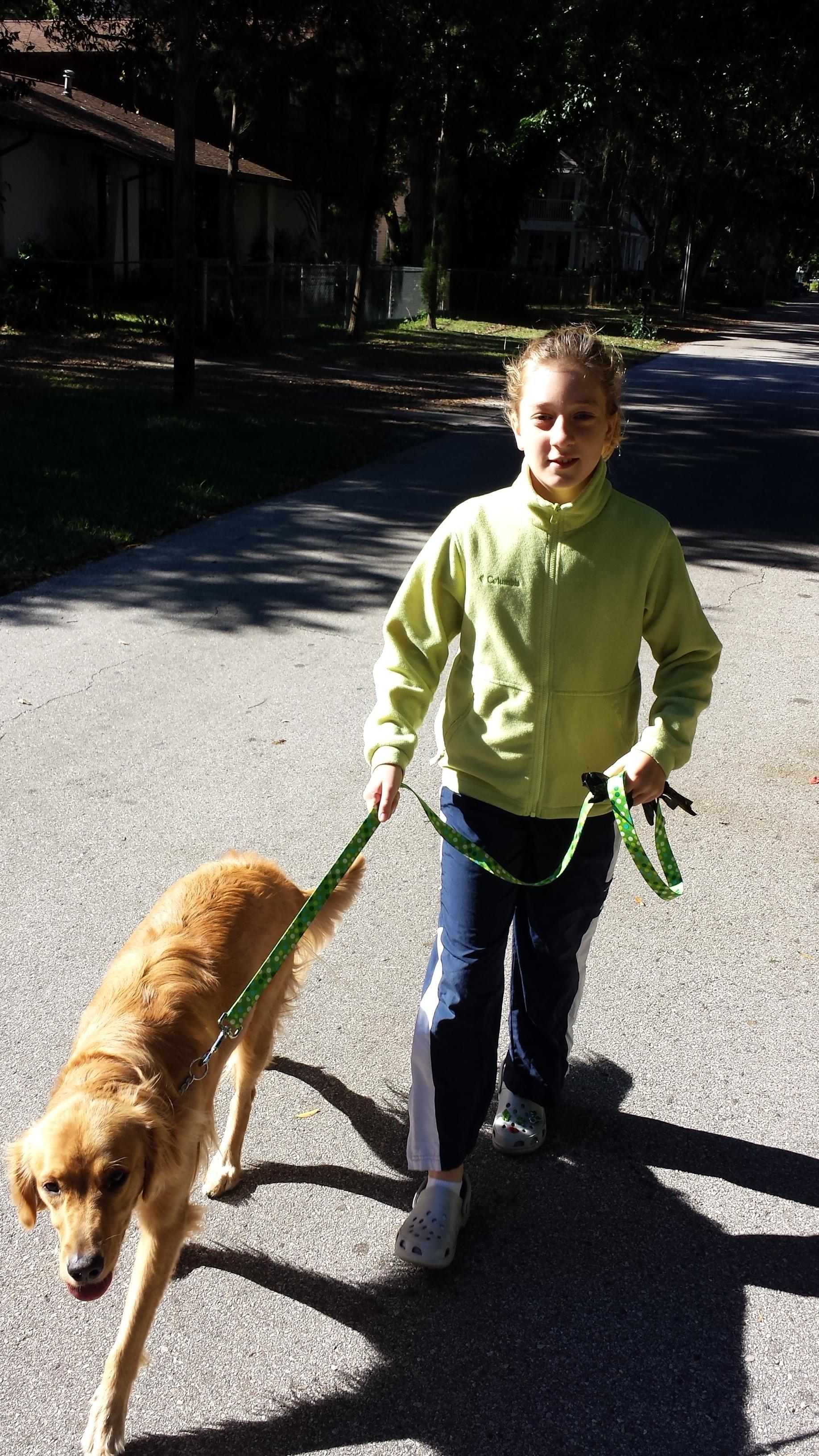 dog walker Danie