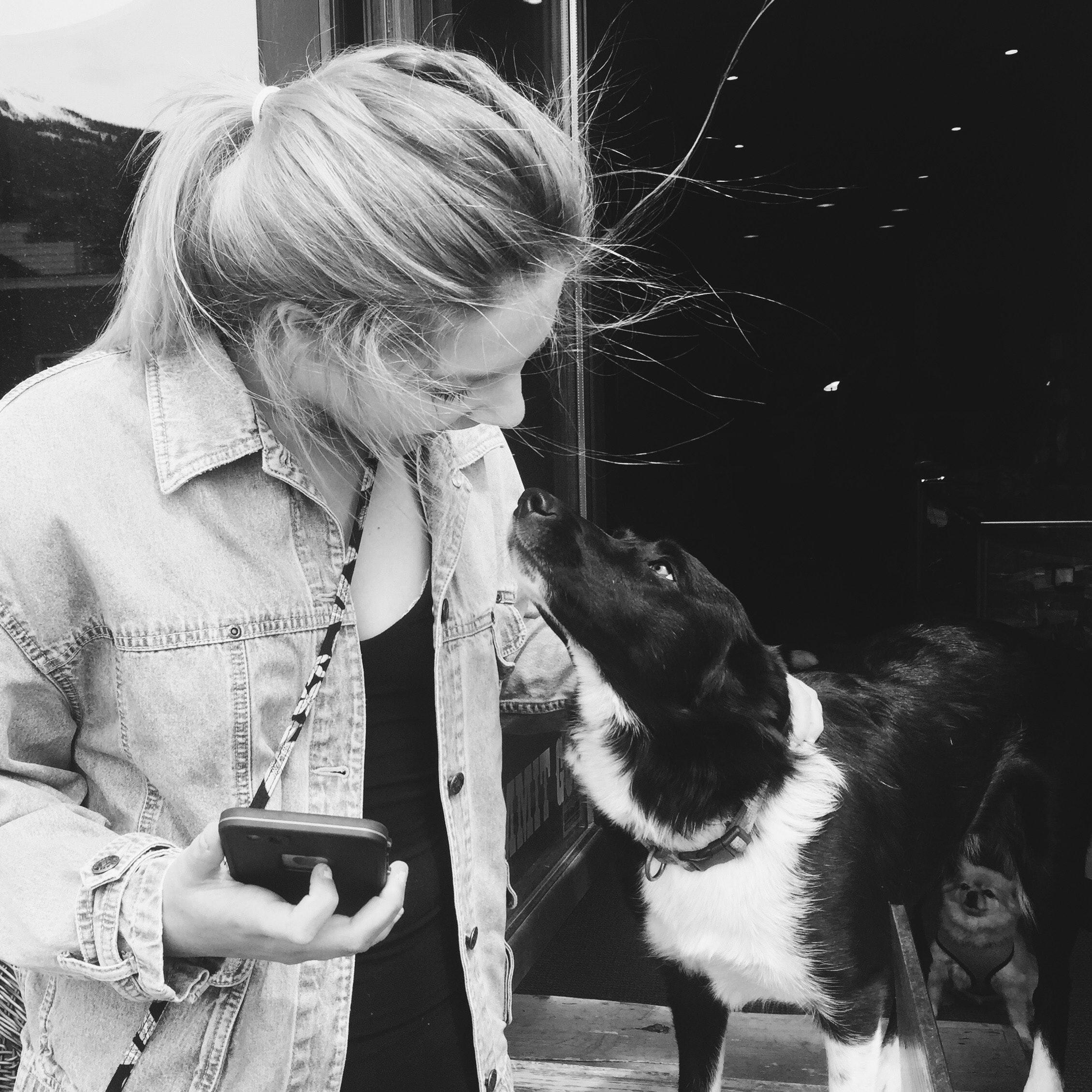 dog walker Emma
