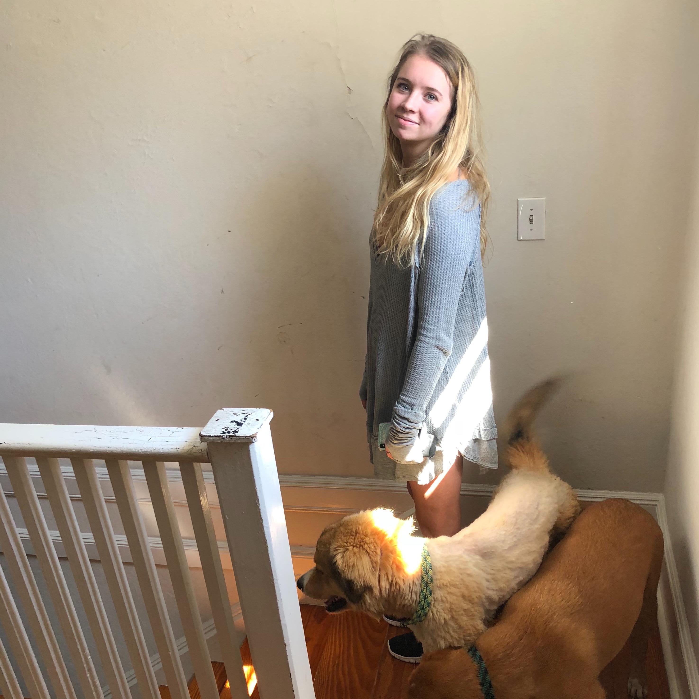 dog walker Samie