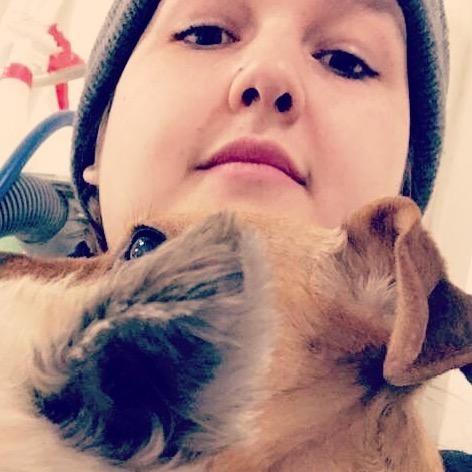dog walker Meagan