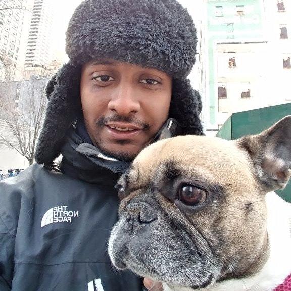 dog walker Ronald