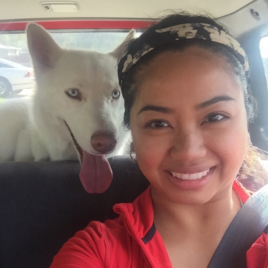 dog walker Elena