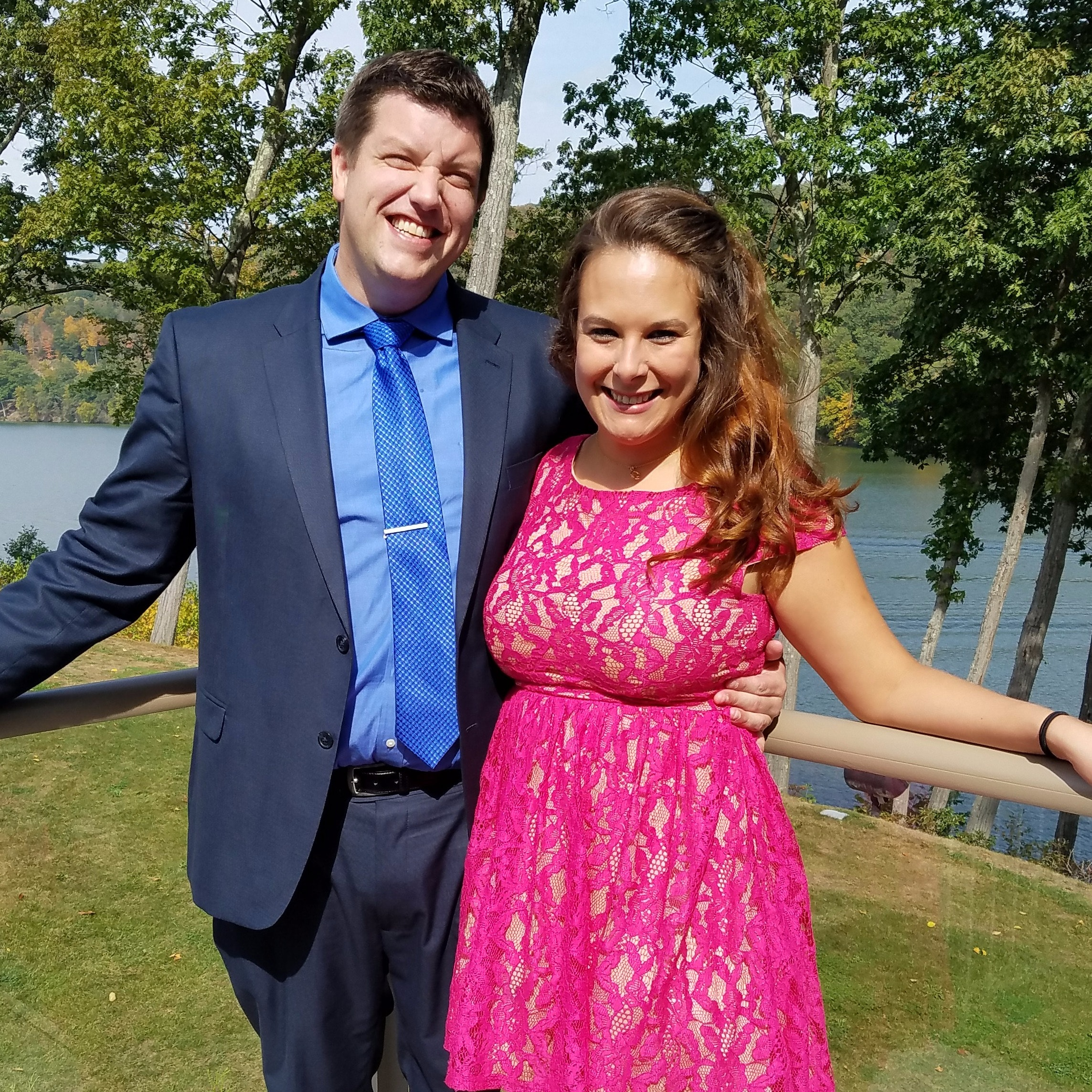 Kristin B. and Brent S. .