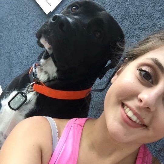 dog walker Haleigh