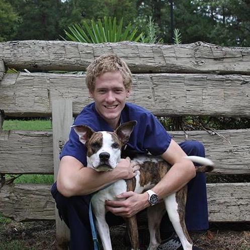 dog walker Mason