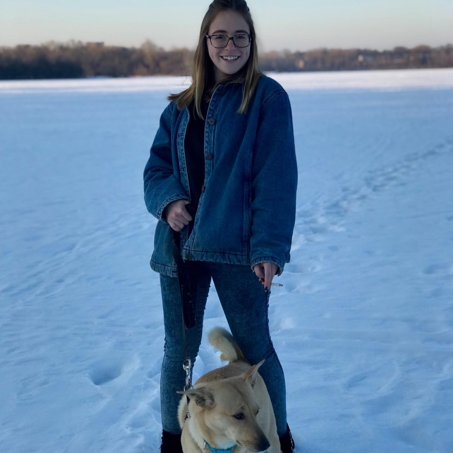 dog walker Rachel