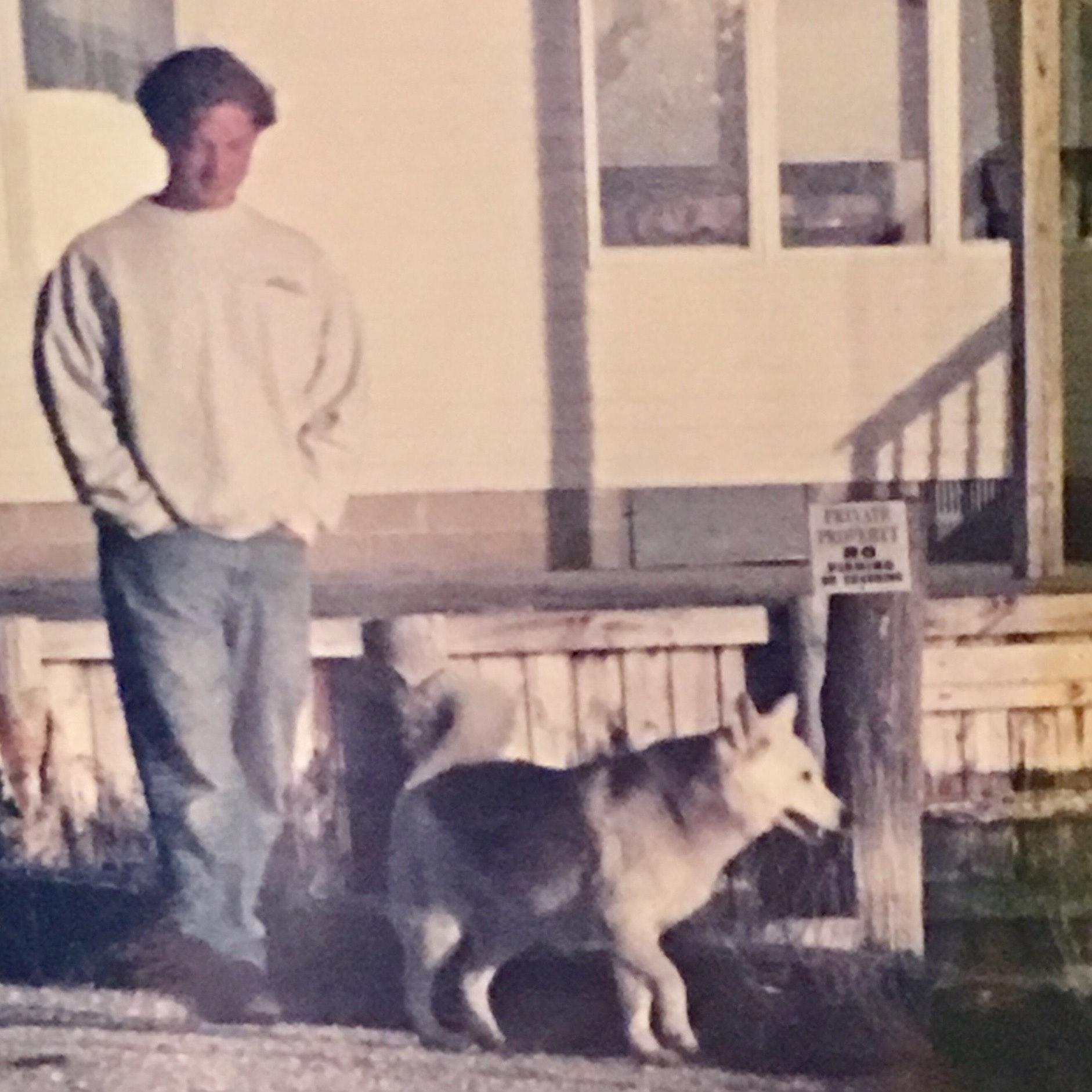 dog walker Douglas