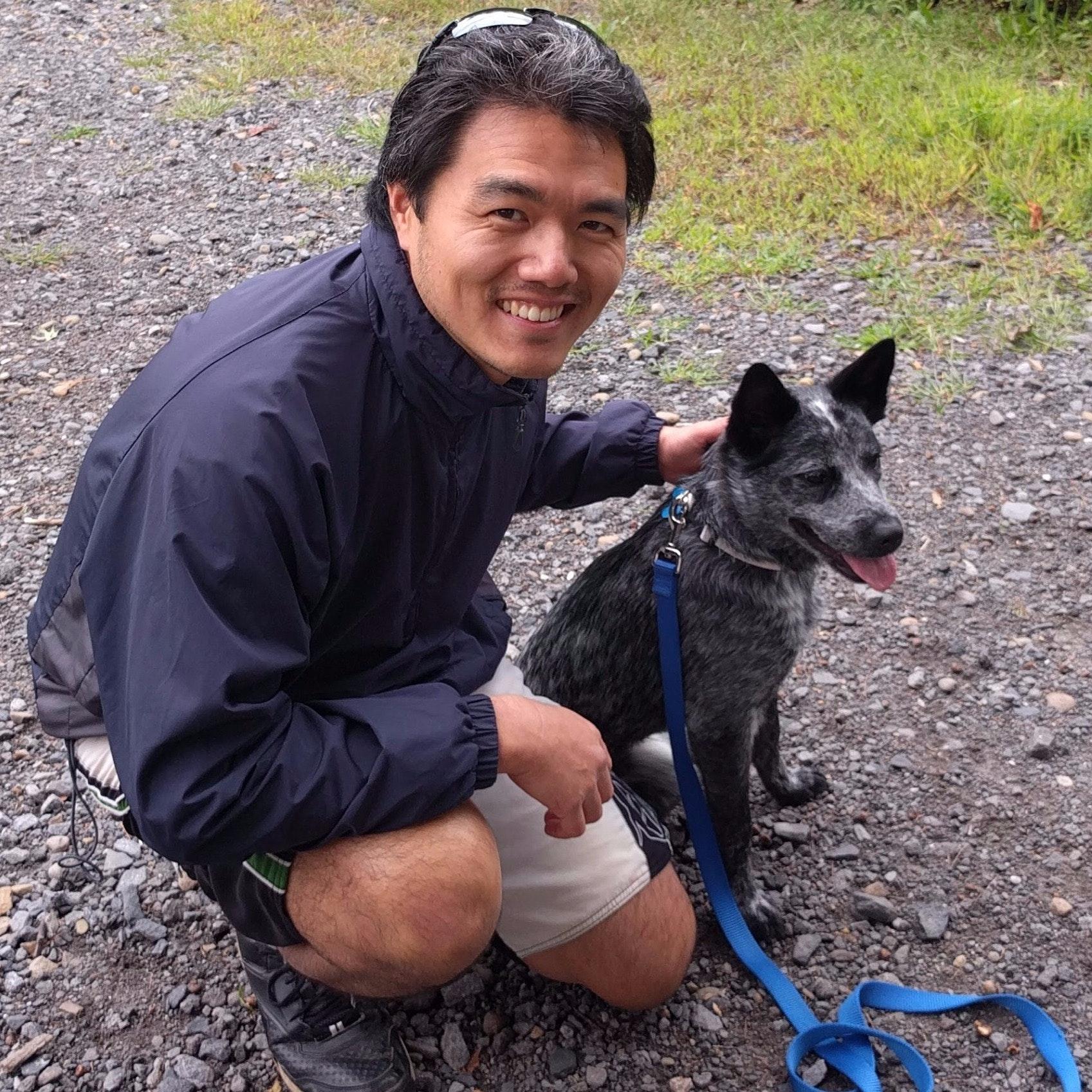 dog walker Victor